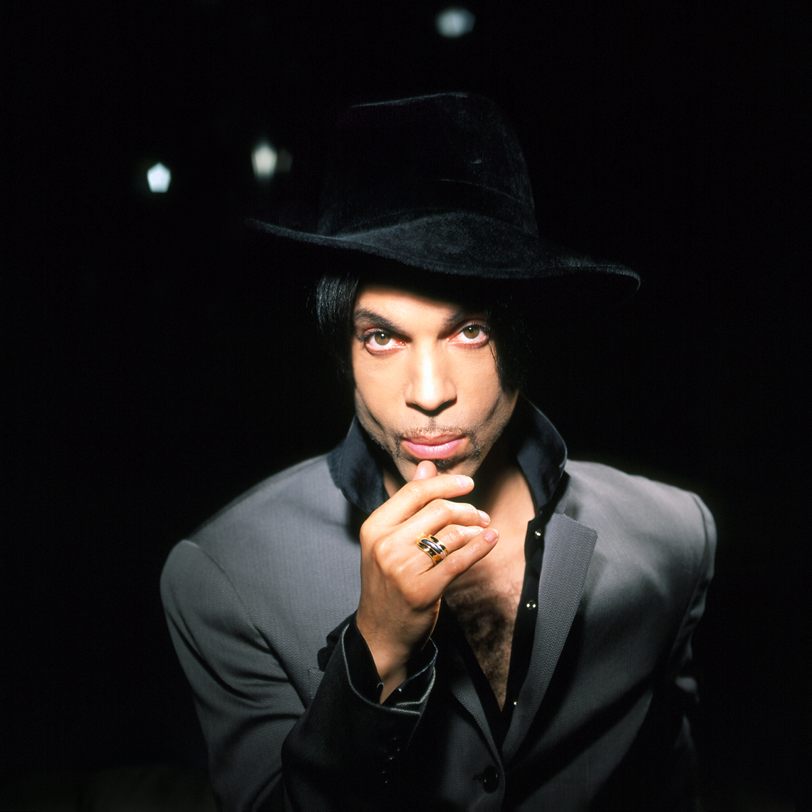 Prince Rogers Nelson album cover one night alone