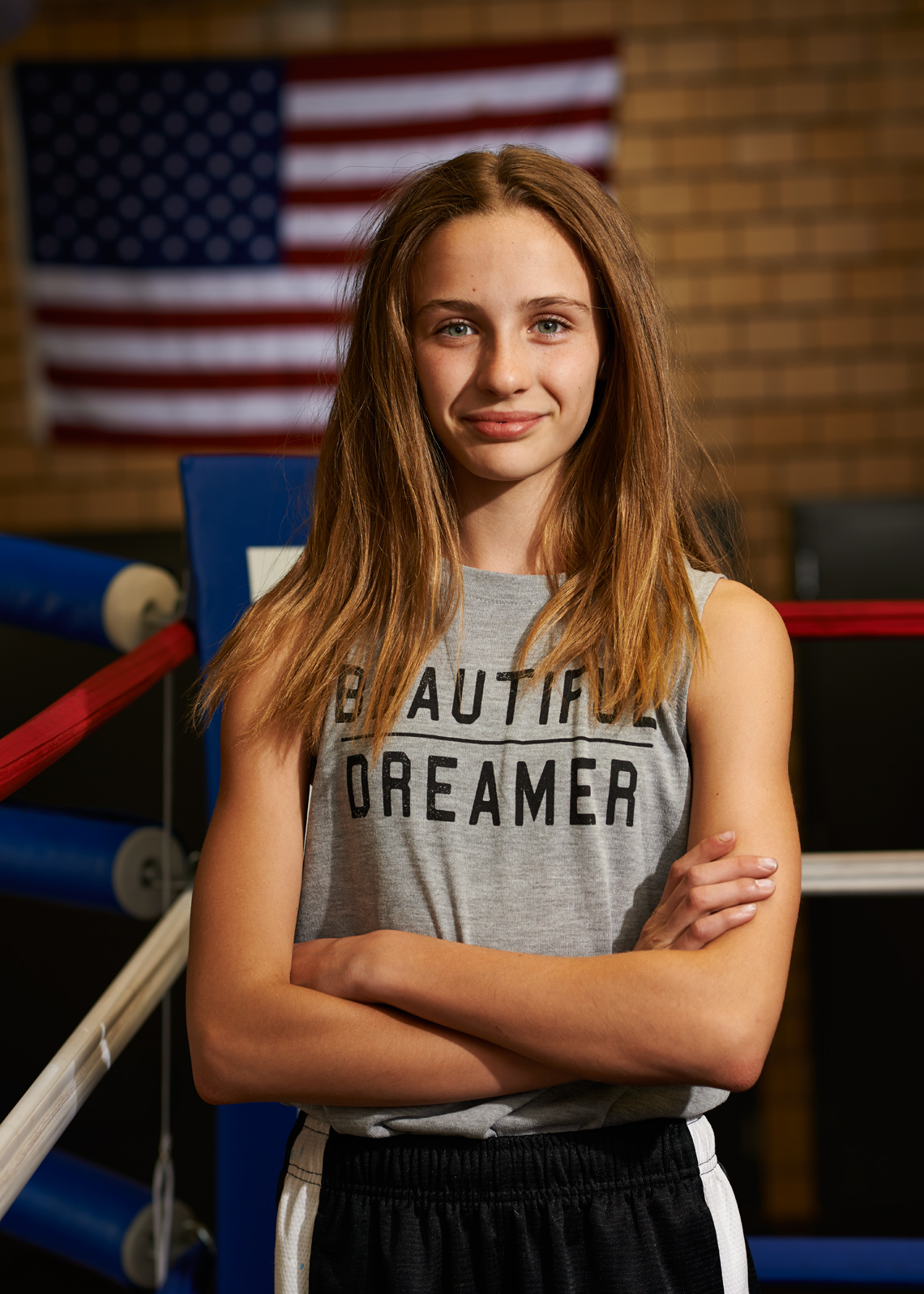Beautiful Dreamer Caucasian Teen Female Boxer