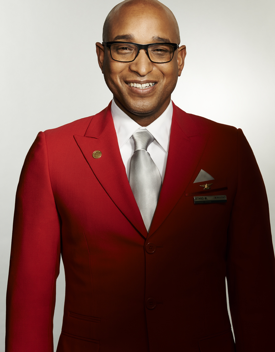 Delta_Red Coat_African_American_Man