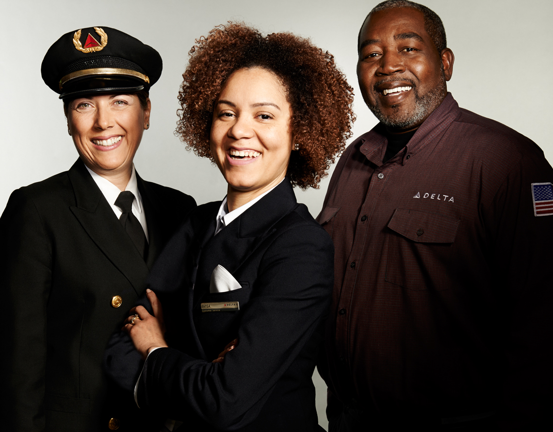 Delta_Airlines_Group of 3 people_multi-racial