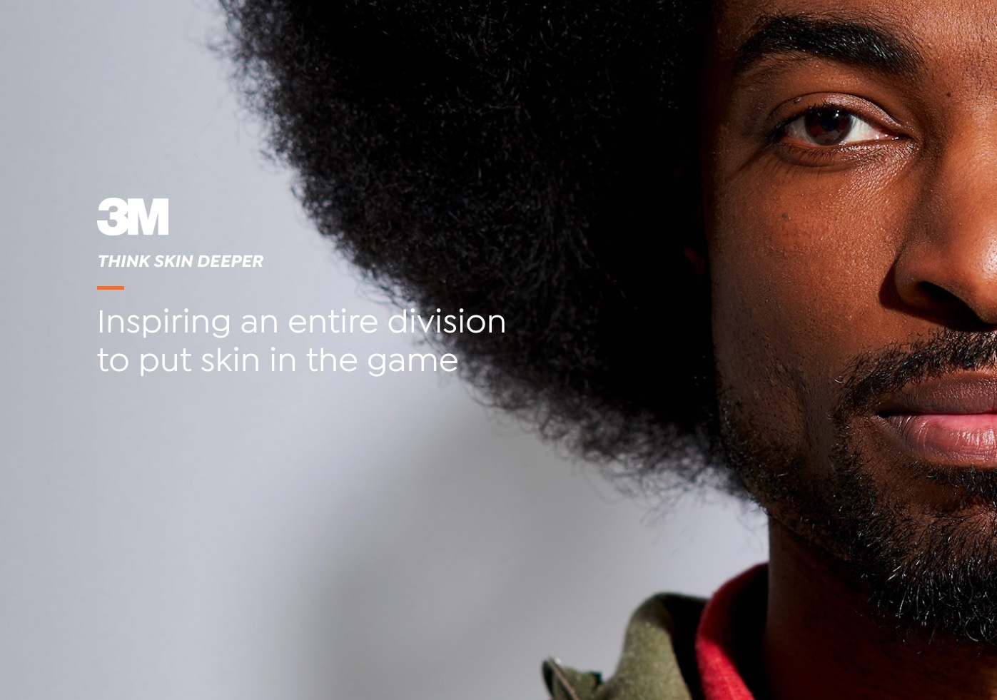 3M Skin - African American Man with big hair