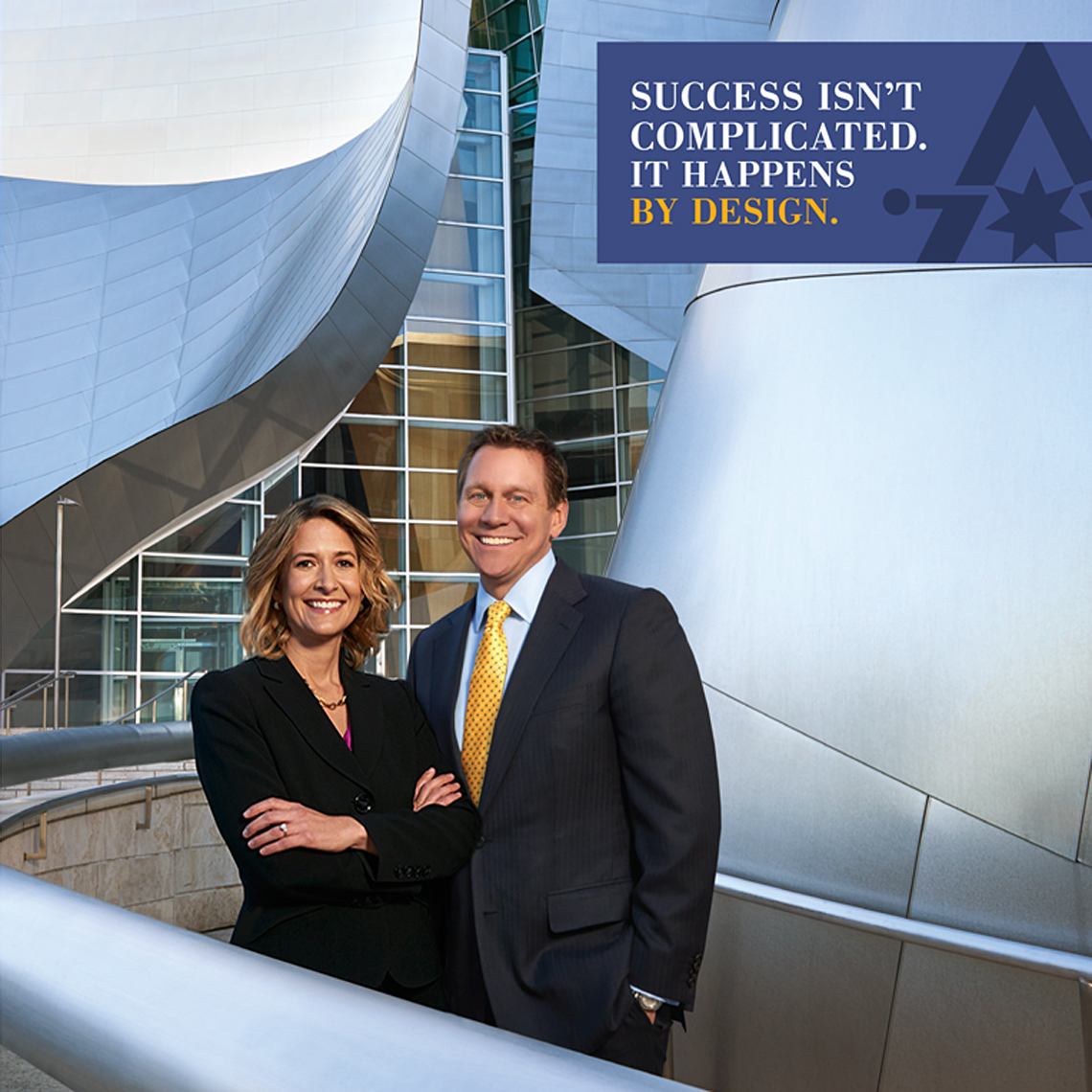 Antares Los Angeles LA Disney Concert Hall Business Couple