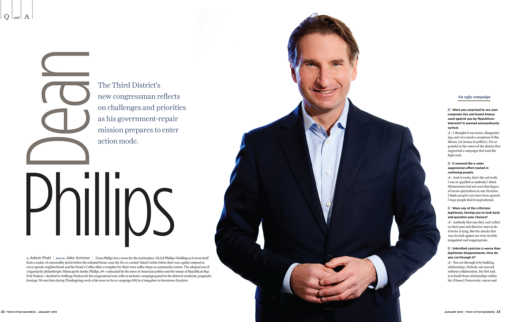 DEAN PHILLIPS Twin Cities Business Magazine