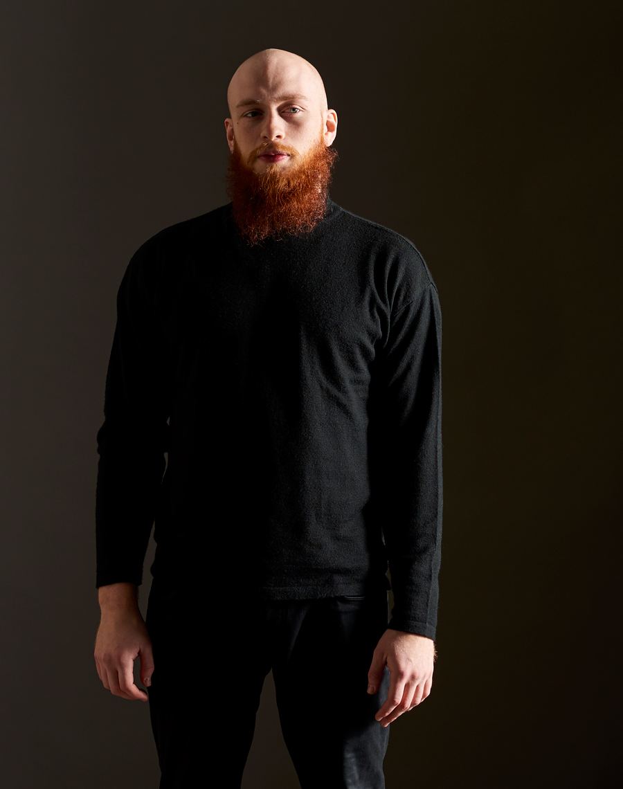 Cooper Red Beard on Black